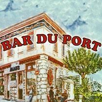Le Bar du Port. Restaurant, Café. Saint Jean Cap Ferrat