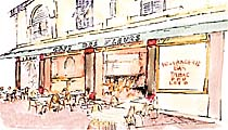 Le Di Yar (ex Café des Fleurs). Brasserie, Tabac. Vieux-Nice, Nice