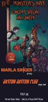 Metal Halloween: Marla Singer & Baston Baston Club