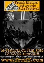 French Riviera Motorcycle Film Festival. Festival cinéma. Nice