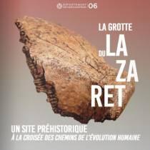 La Grotte du Lazaret. musee, Haut Lieu Touristique - Touristic Highlight. Port de Nice