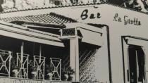 La Grotta. Café Glacier. Grimaldi di Ventimiglia