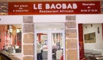 Le Baobab. Restaurant africain. Nice