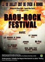 Le Baou-Rock Festival - La Roquette sur Var. municipalité, Festival. Roquette sur Var