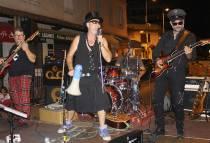 Les Sweating Teeth. Groupe musical. Golfe-Juan